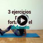Rutina de ejercicios para fortalecer el abdomen